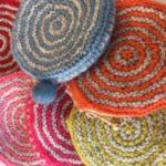 4月編物ワークショップ 「円形編みのコインパース」