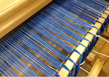 大型織機作品