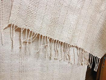 伝統的な技法11ショール(スウェディッシュレース織り)